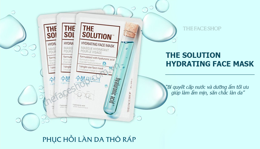 The Solution Hydrating Face Mask