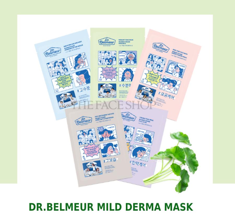mặt nạ giấy Dr.Belmeur Mild Derma