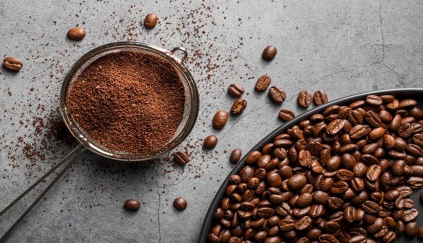 cách làm trắng da bằng bột cà phê