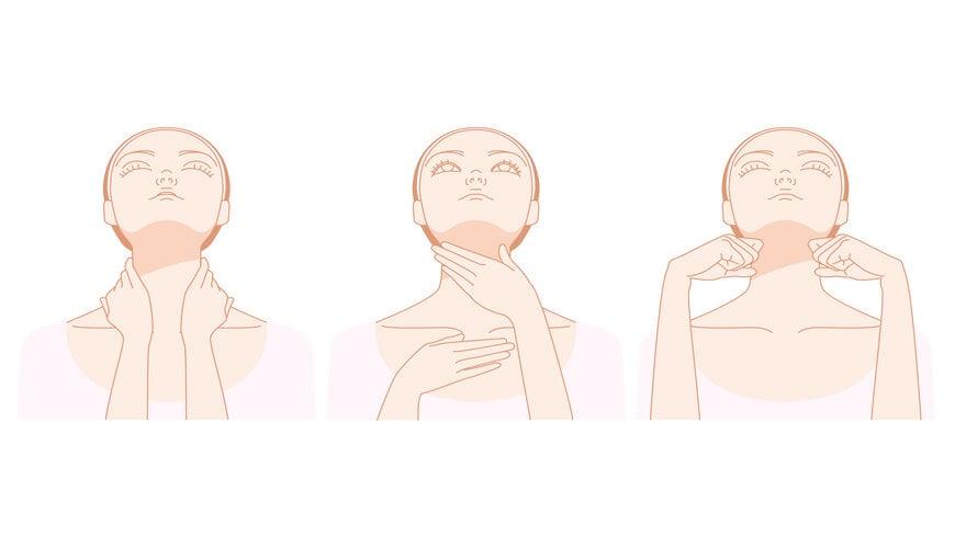 massage vùng cổ