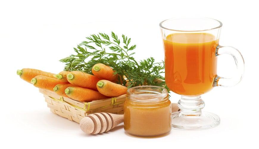 mặt nạ cho da nhạy cảm từ cà rốt và mât ong