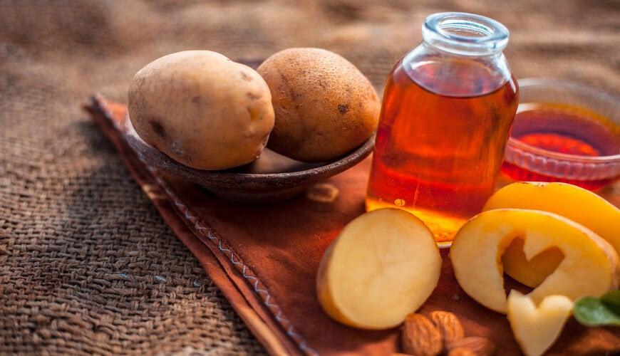 dùng khoai tây làm mặt nạ trị thâm mụn