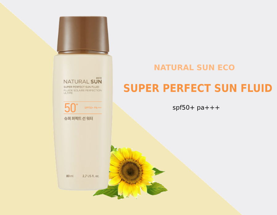Sữa Chống Nắng NATURAL SUN ECO SUPER PERFECT SUN FLUID 50+ PA+++ 80ml