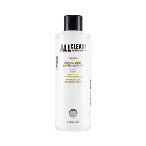 All Clear Cleansing Water