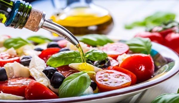 thực phẩm chống lão hóa da dầu oliu