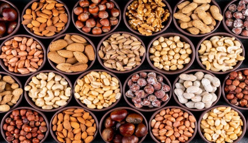 các loại hạt trong thực phẩm chống lão hóa