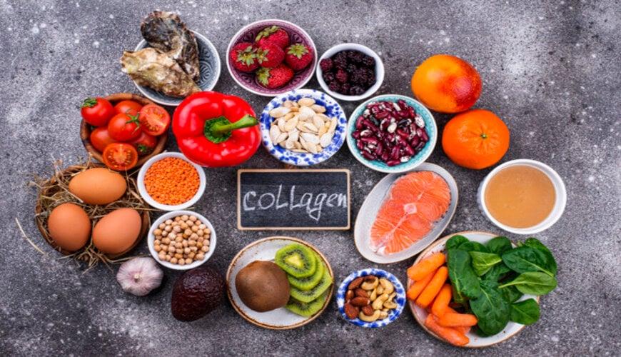 thực phẩm chứa collagen