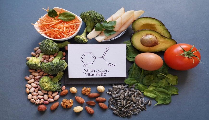 thực phẩm chứa niacinamide