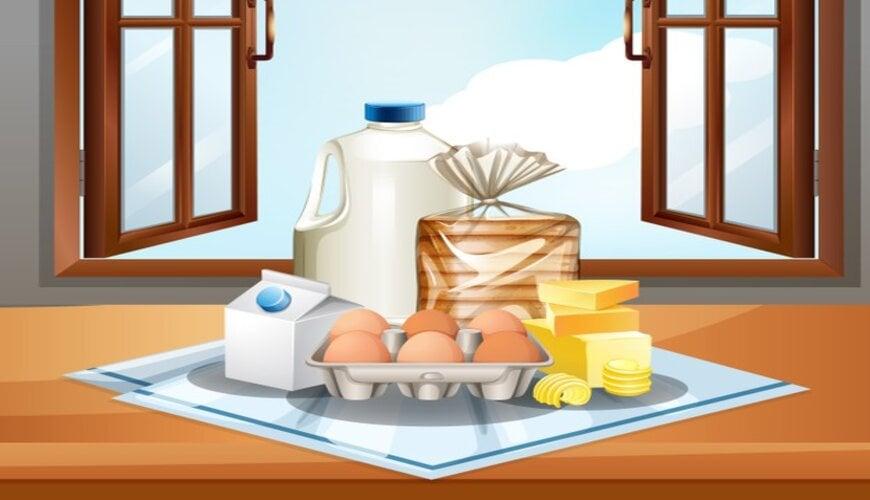 thực phẩm gây dị ứng da măt