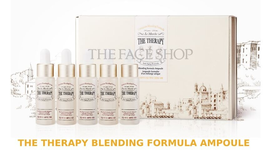 The Therapy Blending Formula Ampoule