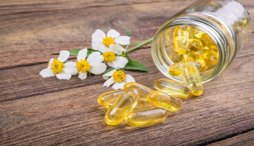 dùng vitamin e trị thâm mụn