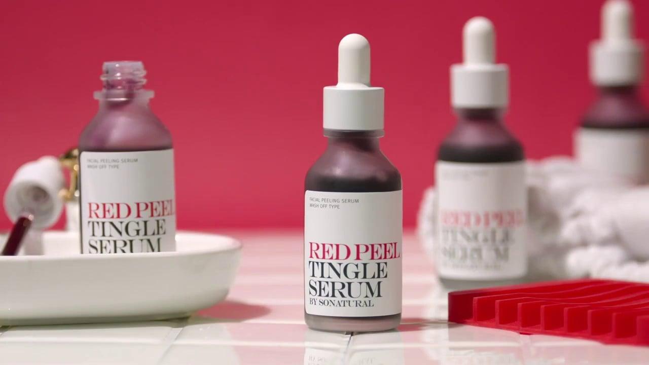 Peel da hóa học, nên chọn The Ordinary AHA 30% + BHA 2% Peeling Solution hay Red Peel Tingle serum?