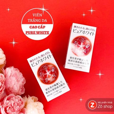 Viên uống trắng da cao cấp Shiseido Pure White có tốt không?