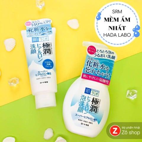 Sữa rửa mặt - Hada Labo Gokujyun 100g