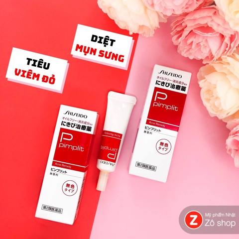 Trị mụn - Shiseido Pimplit 15g