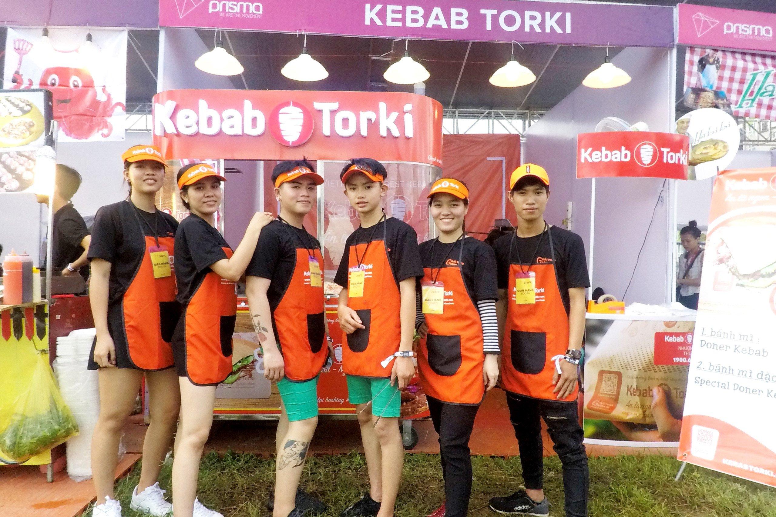 Kebab Torki chất lừ cùng đêm hội Prisma 2017