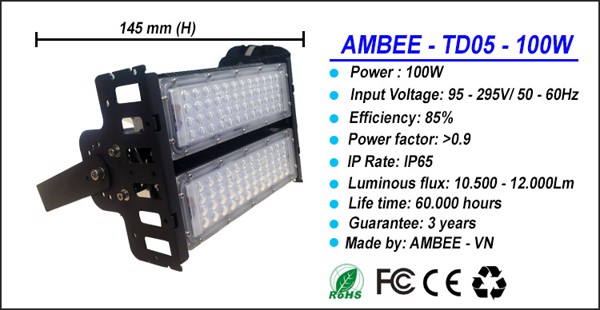 TD05 - LED Flood Light 50W đẳng cấp