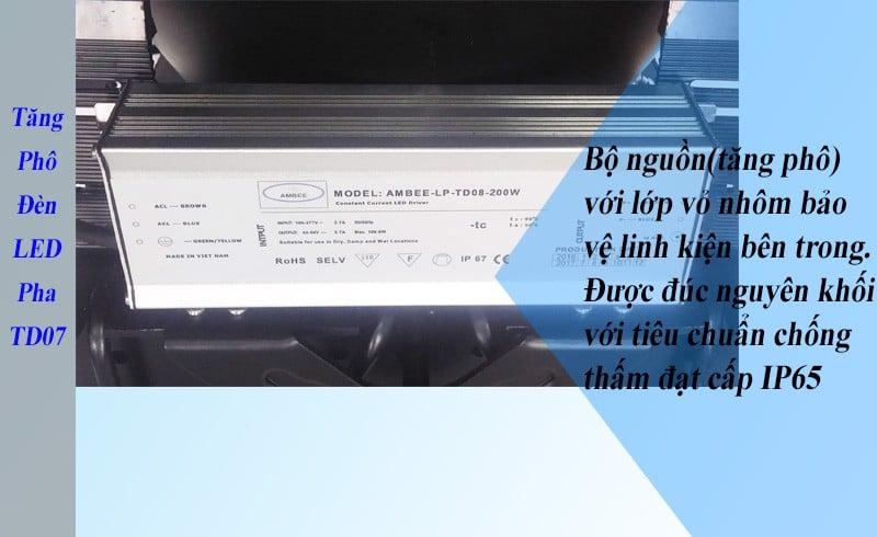 TD07 - Đèn LED Pha Công Nghiệp