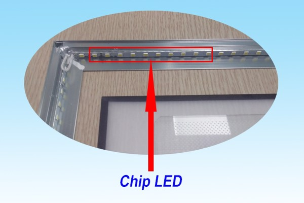 chip ed trogn panel Led Panel Recess 600x600 - 36W