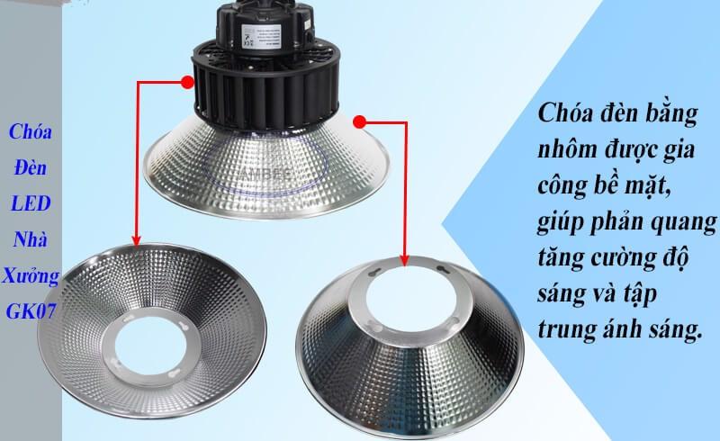 Đèn LED GK07 Highbay tinh tế