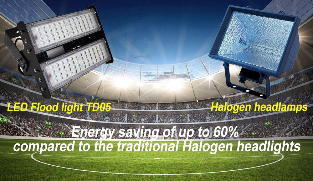 TD05 - LED Flood Light 200W tiết kệm điện