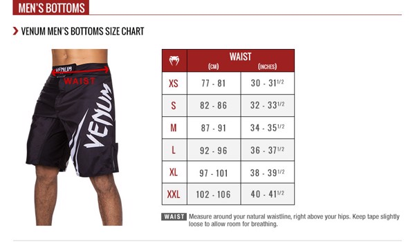 Hướng dẫn chọn kích cỡ Size sản phẩm TheGioiBoxing.com - Size Guide for Combat Sport Gears (MMA, Boxing, Muay Thai)