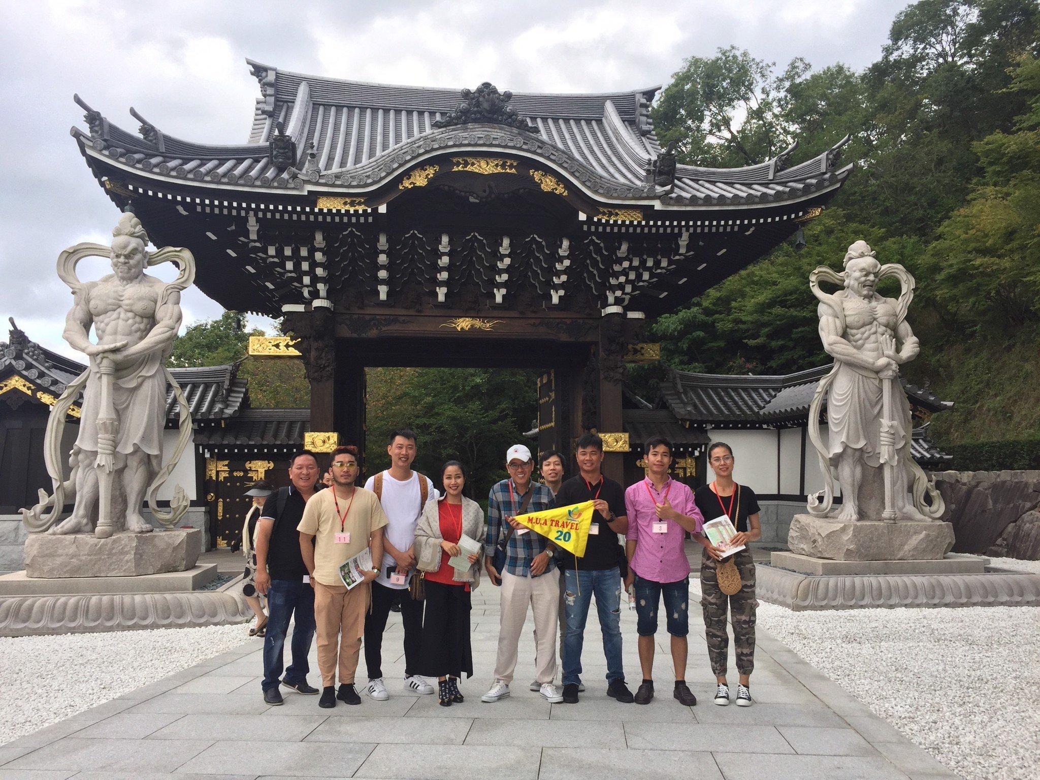 Tour du lịch khảo sát Nhật Bản của M.U.A TRAVEL