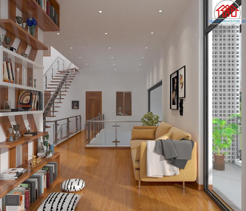 thiết kế kiến trúc nhà phố giá rẻ
