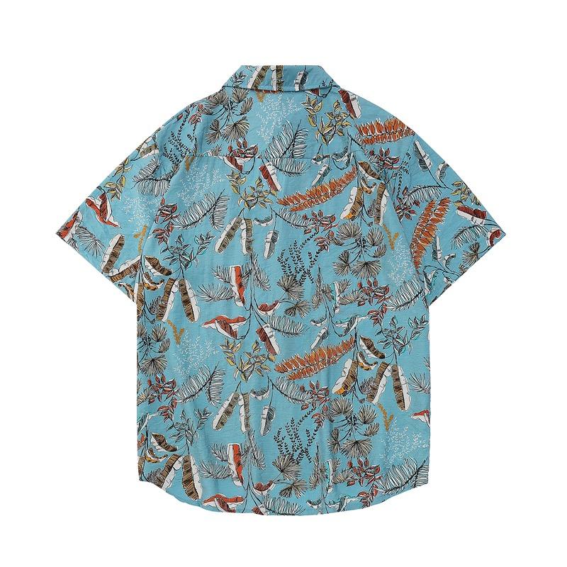 Mặt sau của áo đi biển Sear xanh 1117