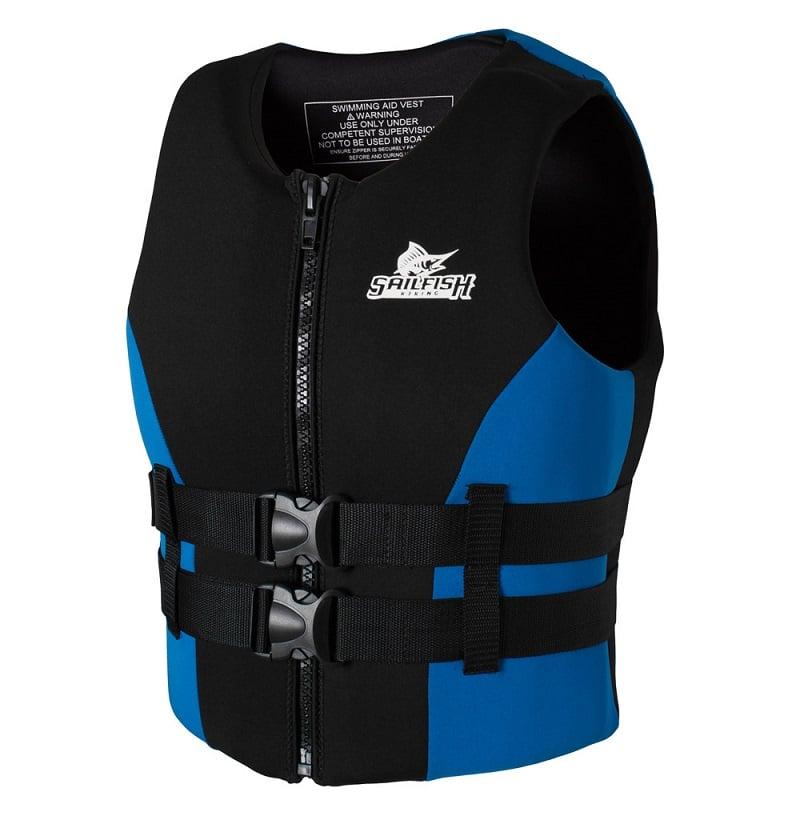 Thiết kế áo phao bơi Sailfish Xanh Blue