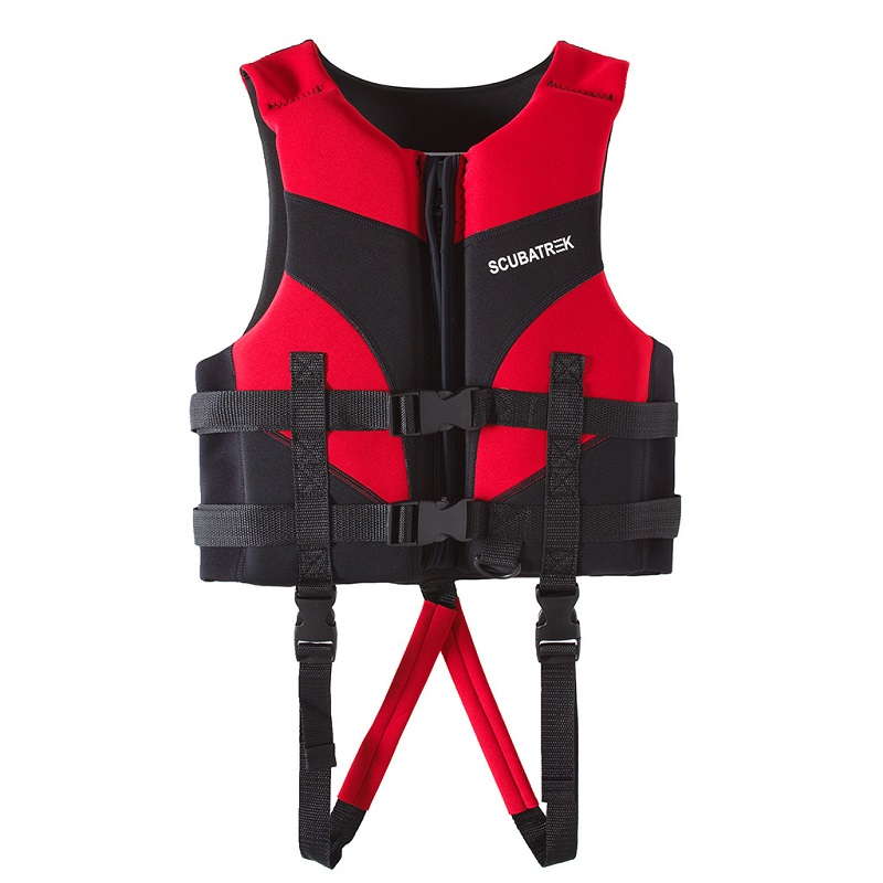 Áo phao bơi cho bé Scubatrek Đỏ