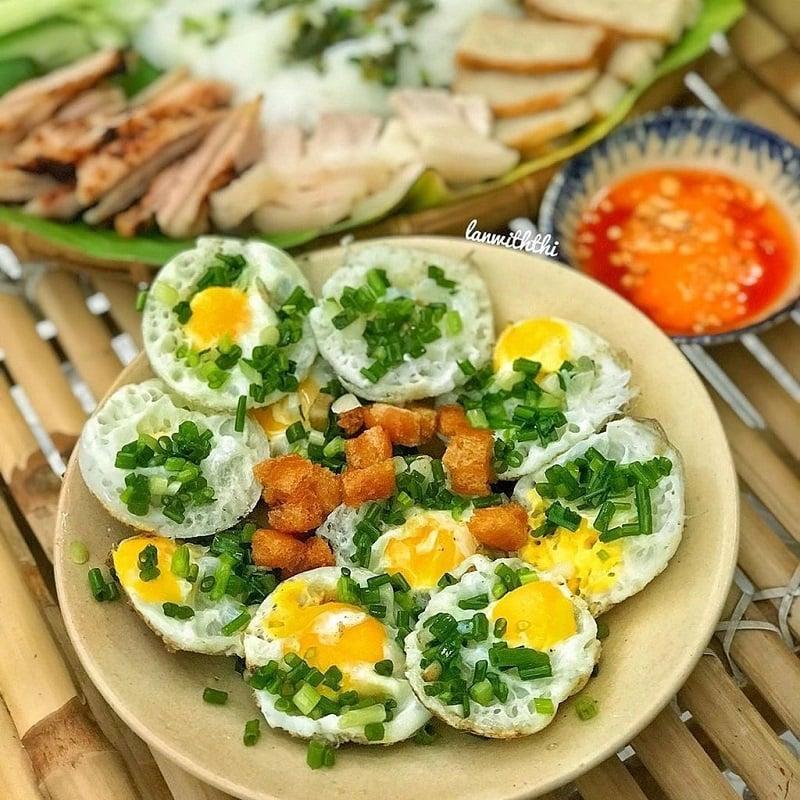 Bánh căn trứng Phan Rang
