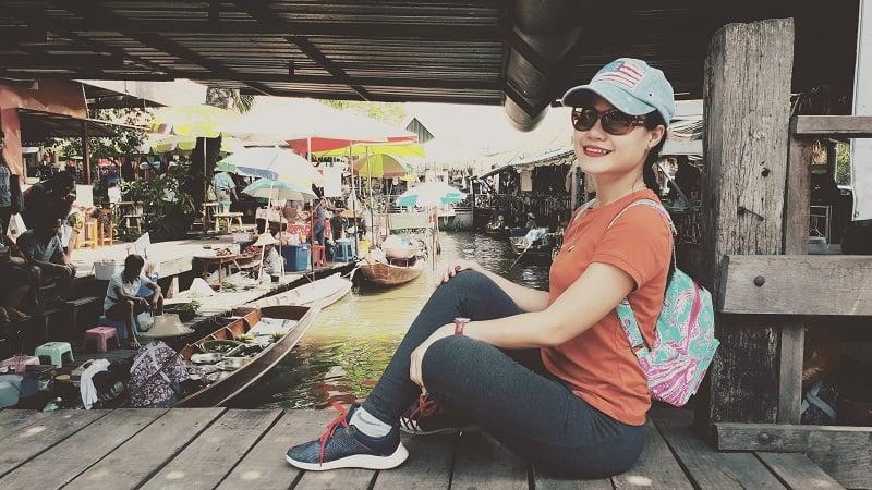 chợ nổi thái lan ở bangkok