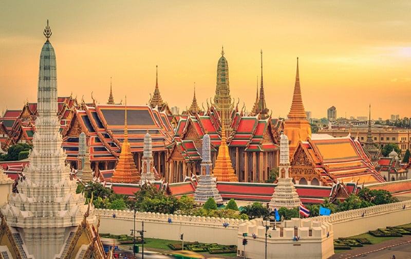 những ngôi chùa thái lan đẹp
