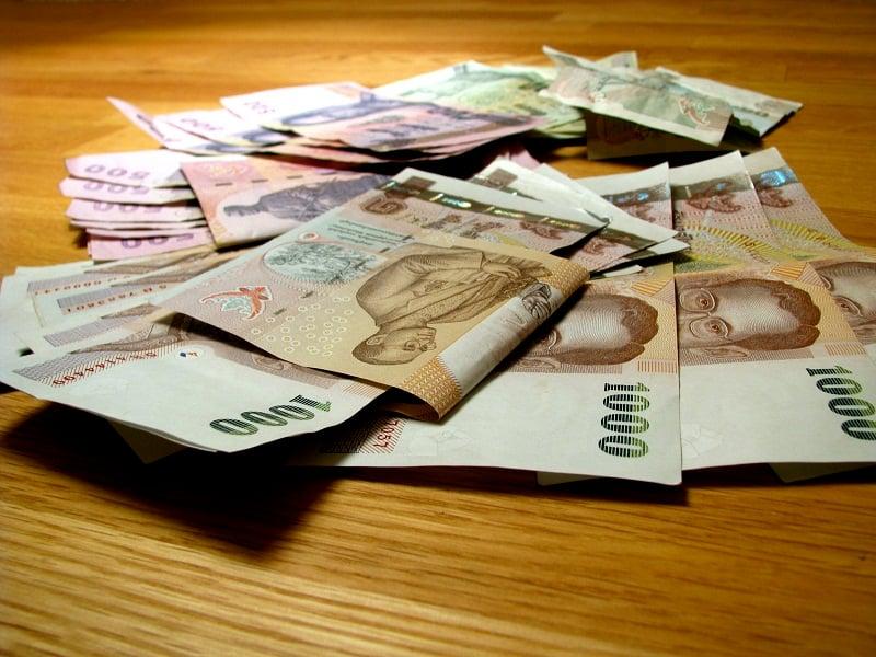 đổi tiền thái lan sang tiền việt