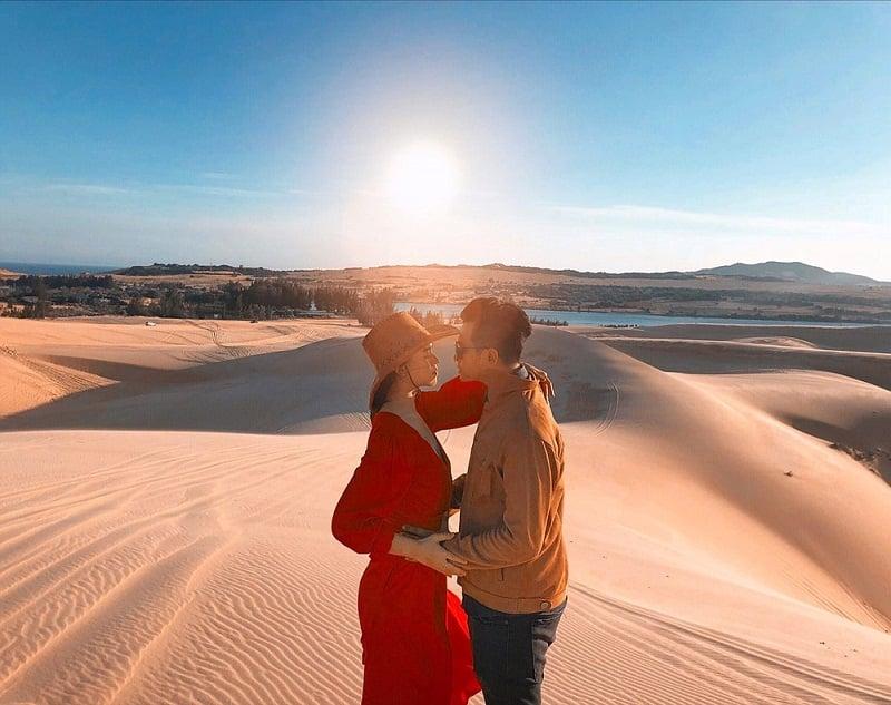 đồi cát Mũi Dinh