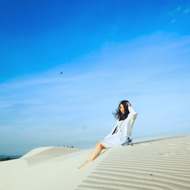 đồi cát trắng bình thuận