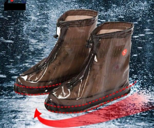 giày đi mưa ủng đi mưa giày đi mưa bọc dày đi mưa