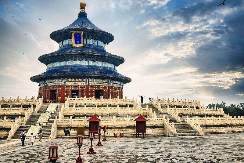 Khung cảnh Thiên Đàn Trung Quốc nơi tế trời