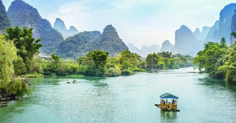 Sông Ly Giang với vẻ đẹp thơ mộng giữa núi non