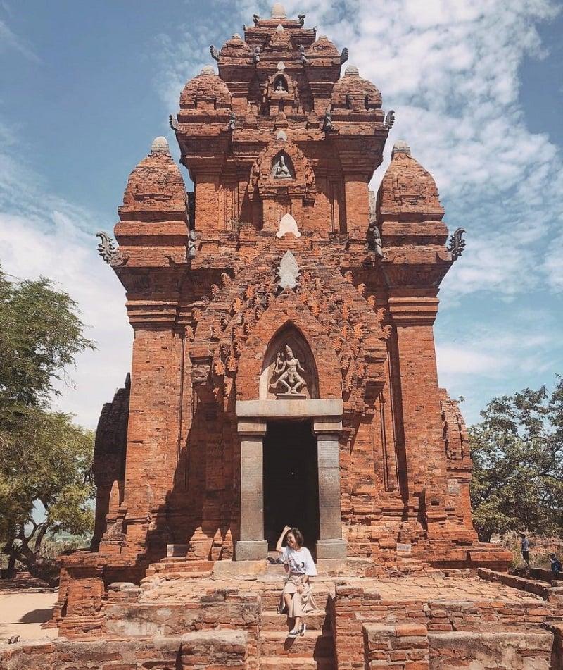 Tháp chàm tại Ninh Thuận
