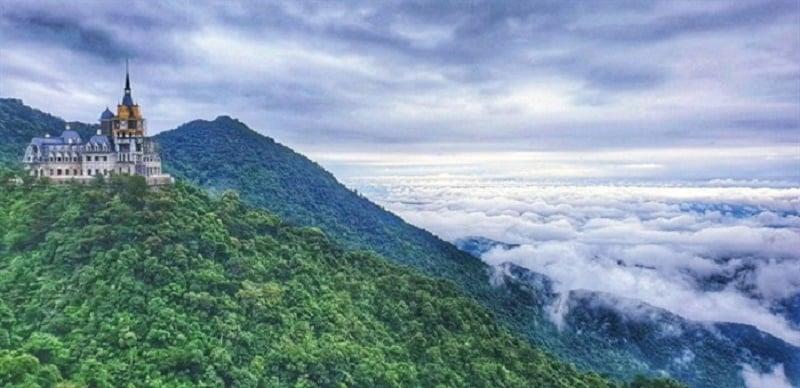 mây trời Tam Đảo
