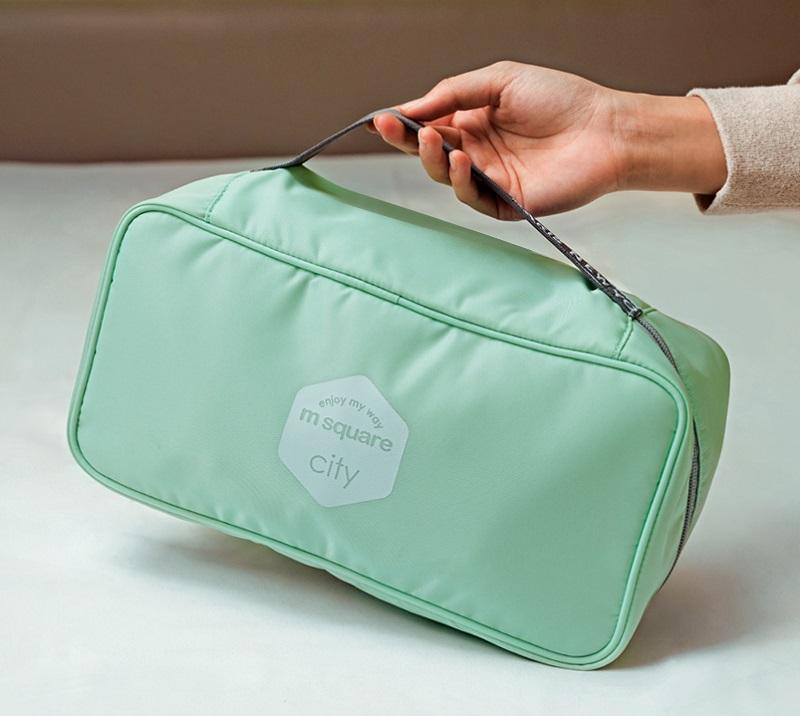 Túi đựng đồ lót du lịch Msquare Underwear Storage Bag màu xanh ngọc