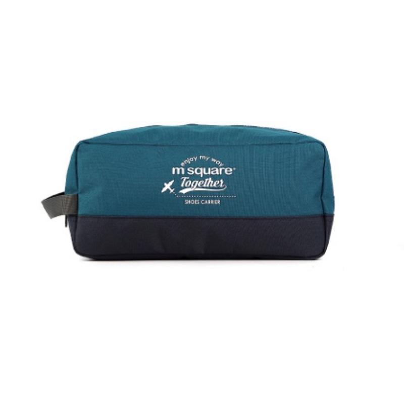 Túi đựng giày 3 ngăn Msquare Convenient xanh than