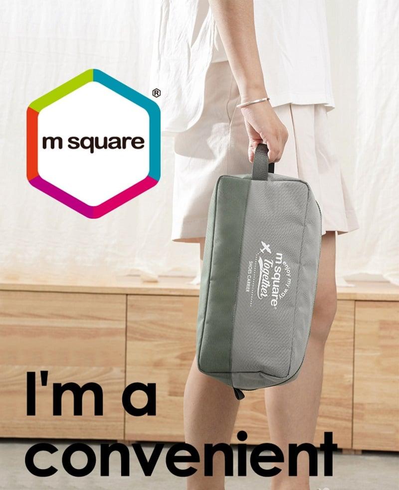 Sử dụng túi đựng giày 3 ngăn Msquare Convenient