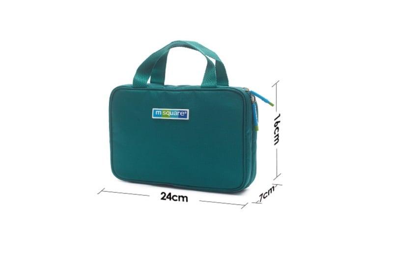 Kích thước Túi đựng mỹ phẩm có móc treo Msquare 131334