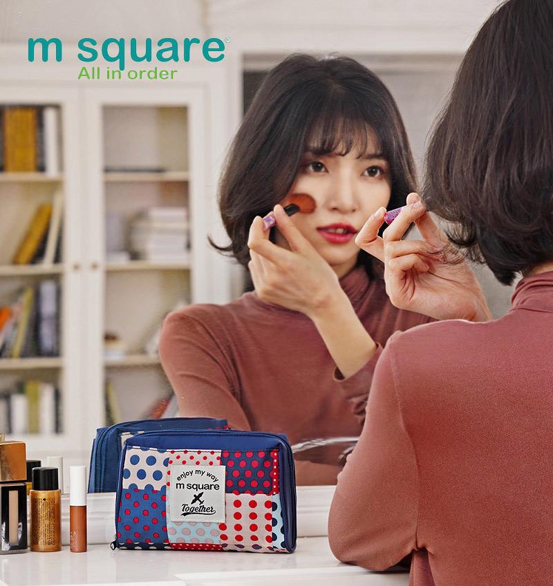 Msquare T202618 M & L có thể mang mỹ phẩm khắp mọi nơi
