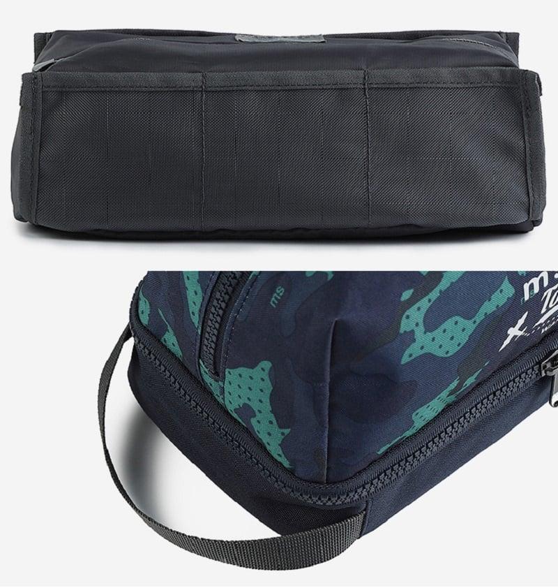 Cận cảnh chất liệu túi đựng mỹ phẩm Msquare
