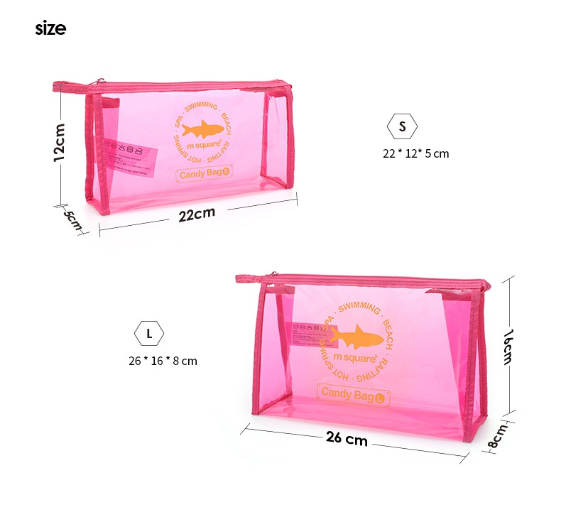 Transparent Makeup Bag
