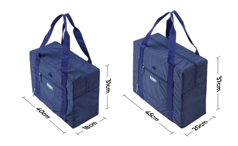 Kích thước của túi đựng quần áo cỡ lớn Msquare Foldable